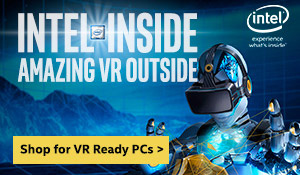 Intel Inside Amazing vr outside